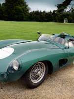 24 Hours Le Mans winning race car Aston Martin DBR 1/2