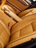 Mercedes-Benz S600 (W221) front seats
