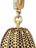 Pumpkin Charm in Yellow Gold and Lacquer