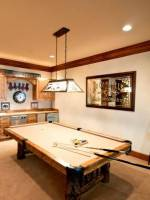 The billiards table