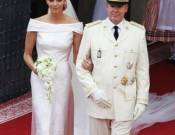 Prince Albert II and Charlene Wittstock wedding