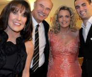 Dr. Phil McGraw with Robin,  Nancy and  Alexander