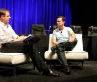 Peter Thiel at an interview
