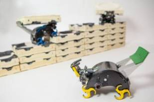 Termite bots to build towers