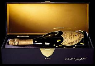 "Karl Lagerfeld Presents Dom Perignon ""A Bottle Named Desire"""