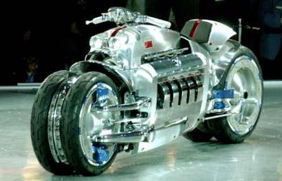 chrysler tomahawk v10 motorcycle
