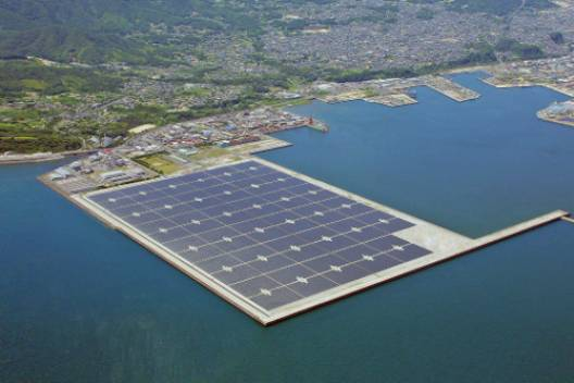 Largest Solar Power Plant in Japan Launched