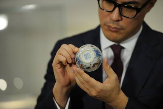 Chinese Porcelain Cup Fetches $36 Million in Hong Kong Auction