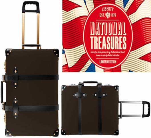 Exclusive Fox/GLOBE-TROTTER Collaboration For Liberty produces limited edition suitcase