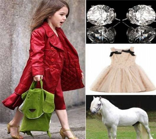Suri Cruise's $130,000 Christmas wish list has a pony and fairy tale stuff