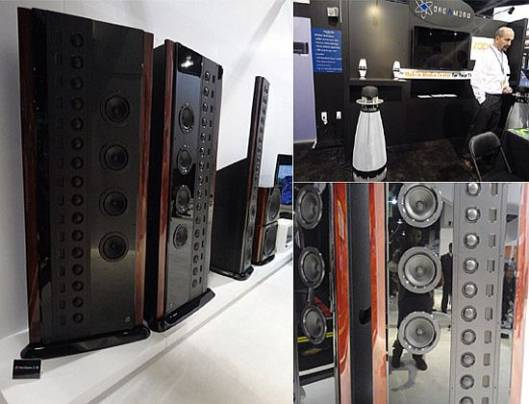 Hi-end audio speakers at CES 2012