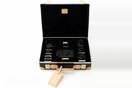 Fujifilm and Globe-Trotter's limited edition X-Pro1 kit for Harrod's