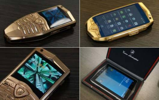 Tonino Lamborghini launches new luxury phones and a tablet for the uber-rich