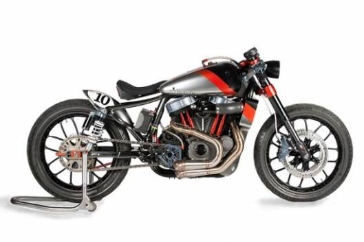 Shaw F1-XLR Nightster inspired by 1920s Harley-Davidson board racers