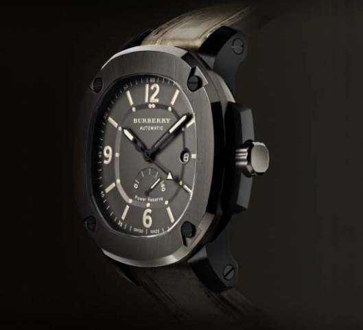 "Burberry Iconic Trench Coat Inspires ""The Britain"" Watches"