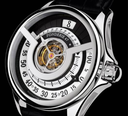 Fonderie 47 Inversion Principle Tourbillon destroys assault weapons and proudly flaunt it too
