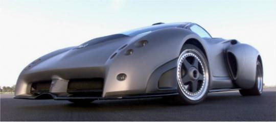 1998 Lamborghini Pregunta concept car inspiration is the Dassault Rafale Fighter jet
