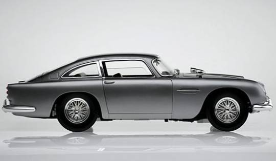 Aston Martin DB5  used in James Bond Goldfinger