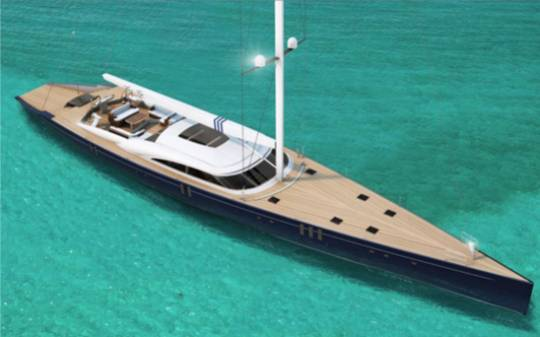 Christopher Seymour Designs Amor Fati yacht