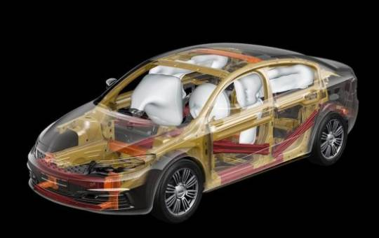 Qoros 3 Sedan Safety Structure
