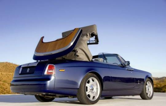Rolls-Royce Phantom Drophead Coupe Teak Decking