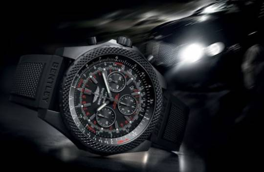 Breitling for Bentley 10th anniversary watch sideview