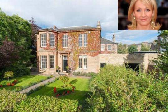 J.K Rowling's former house Excess Scottish Manse listed for $3.7 million