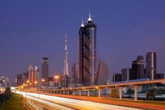 JW Marriott Marquis Dubai is the world's tallest hotel