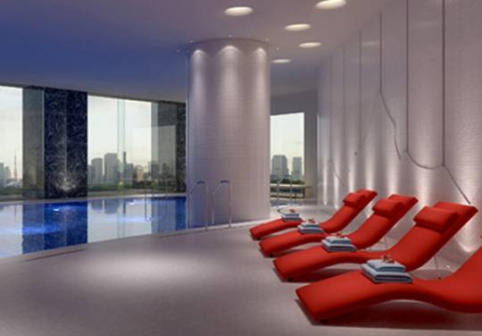 Japan's first Evian spa at the Palace Hotel, Tokyo