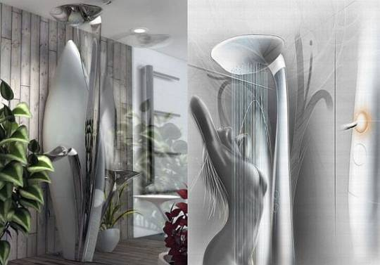 shower concept by thierry fischer