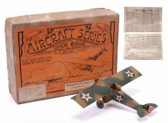 WW2 toy plane fetches £10,000 at auction to become the most expensive toy air plane