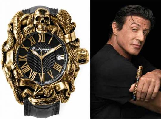 Montegrappa Chaos Automatic watch launched in collaboration with Sylvester Stallone
