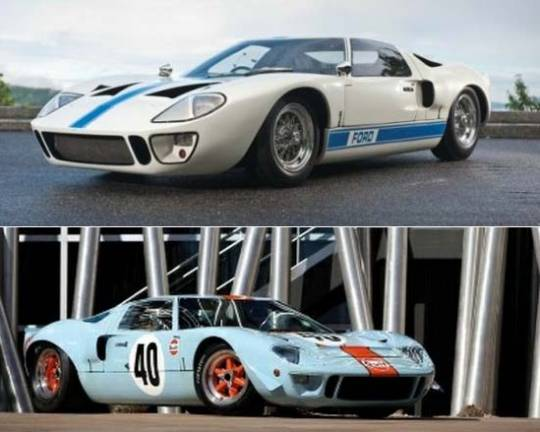 Rare Ford GT40 racing cars for sale at RM's Monterey Auction