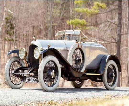 Bentley first ever car produced is up for auction