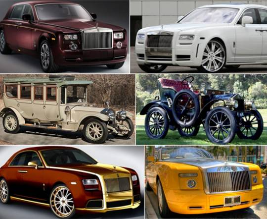 Most exceptional Rolls Royce editions