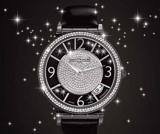 Saint Honore Opera Eclair ladies watch