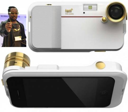Will.i.am launches i.am+ iPhone Camera Accessory for the Bling Lovers