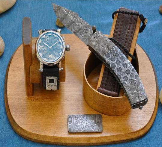 Gustafsson & Sjorgren knife and watch set