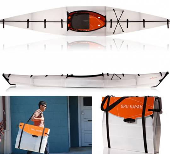 The folding kayak