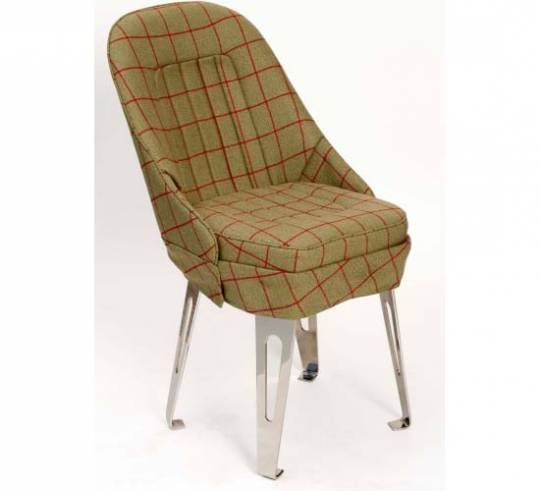 Retro Tweed bucket seat