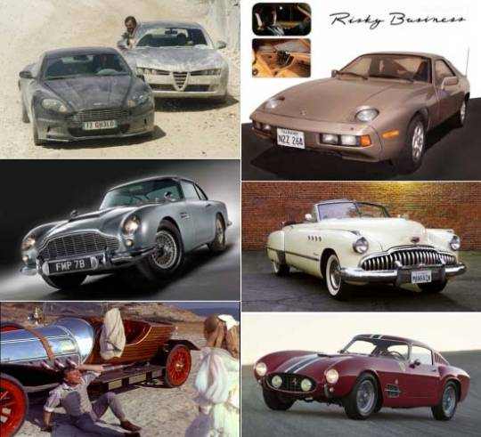 Iconic Luxury Cars from Hollywood Movies sold at auctions