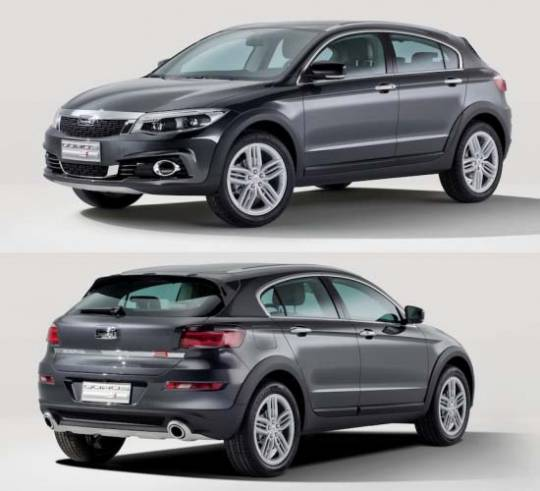 Qoros 3 Cross Hybrid Concept: versatile driving pleasure with innovative hybrid drive technology