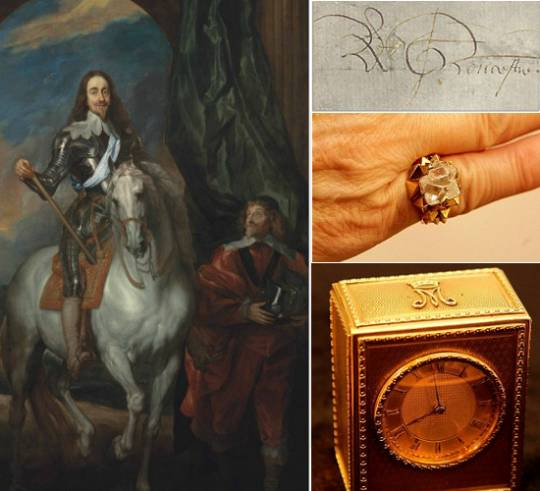 Royal Items to go up for auction