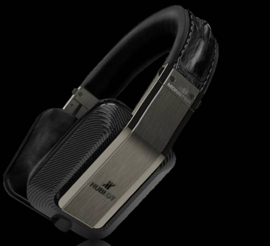 Hublot Monster Inspiration headphones are loaded with technology features like bluetooth and ControlTalk which allows one to make and send calls