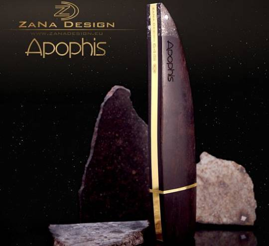 "ZaNa Design luxurious USB Flash Drive ""Apophis"" is crafted from gold"
