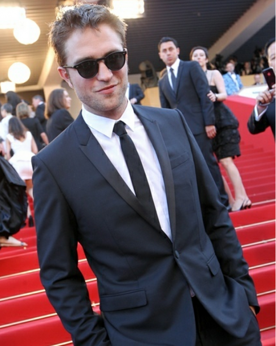 At 2012 Cannes Robert Pattinson was spotted wearing OP Gregory Peck sunglasses