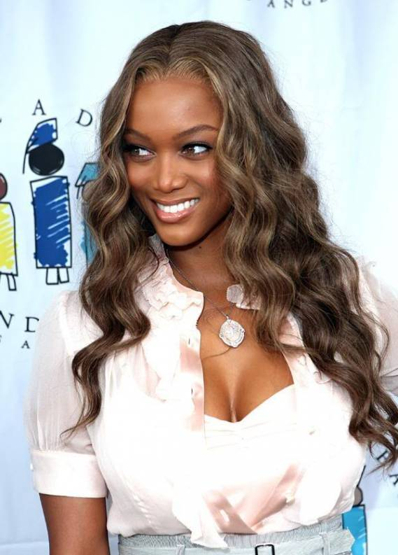 Tyra Banks at the