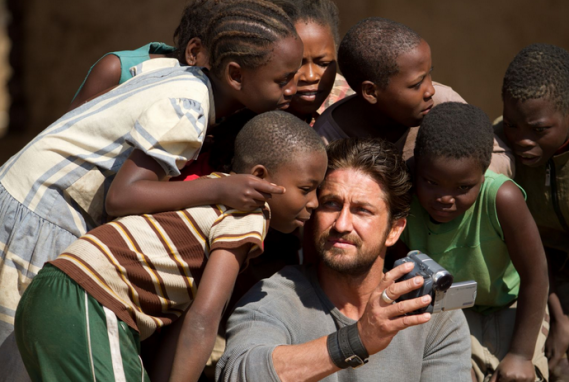 Gerard Butler supports the efforts of Angels of East Africa.