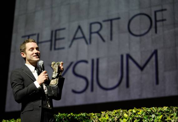 Elijah Wood supports The Art of Elysium