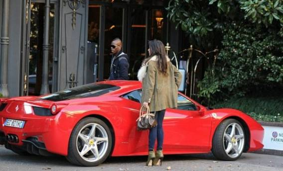 Mario drives Ferrari 458 Spider